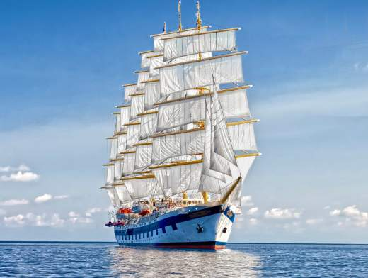 Crucero Royal Clipper en las Granadinas